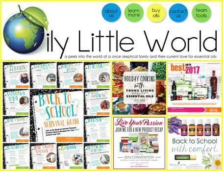 Oily Little World Blog
