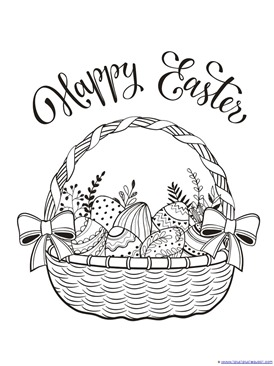 Easter Coloring (1)