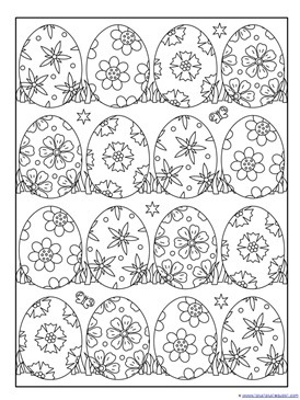 Easter Coloring Pages 1 1 1 1