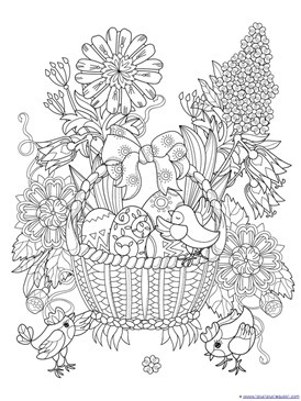 Easter Coloring (7)