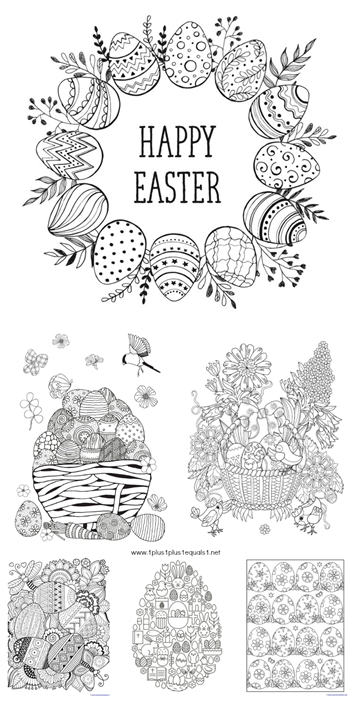 beautiful easter coloring pictures gallery triamterene