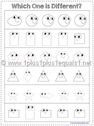 Shapes Which is Different