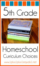 5th Grade Homeschool Curriculum Choices
