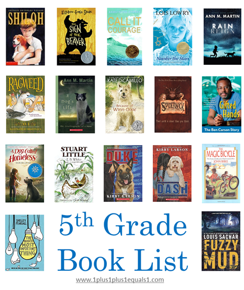5th Grade Reading List Update 1 1 1 1
