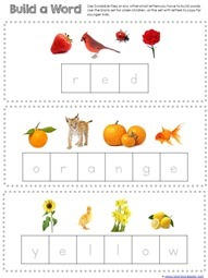 Build the color word (2)