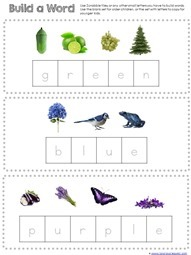 Build the color word (3)