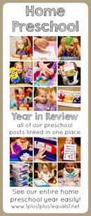 Home Preschool Ideas