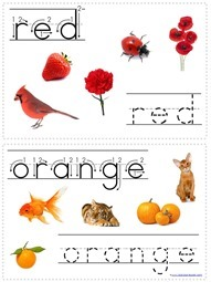 Tracing Color Words (2)