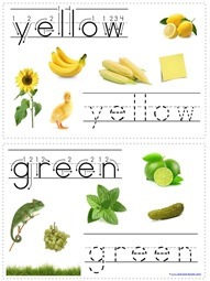 Tracing Color Words (3)