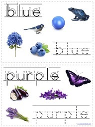 Tracing Color Words (4)