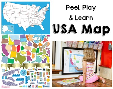 USA Map FB