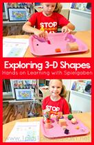 Exploring 3D Shapes with Spielgaben
