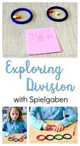 Exploring Division with Spielgaben
