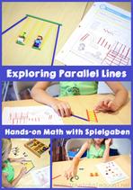 Exploring Parallel Lines with Spielgaben