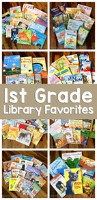 1st Grade Library Book Favorites