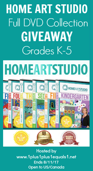 Home Art Studio Giveaway ends 8.11.17