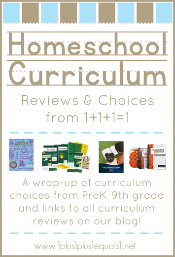 Homeschool Curriculum Reviews and Choices
