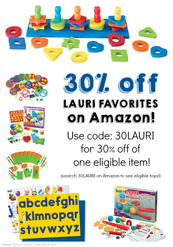 Lauri Toys Sale on Amazon