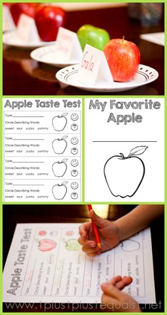 Apple Taste Test Printable