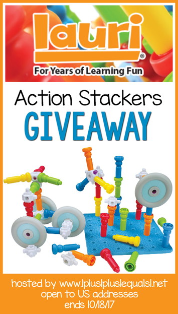 Lauri Toys Action Stackers Giveaway