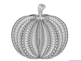 All New Pumpkin Coloring Pages! - 1+1+1=1
