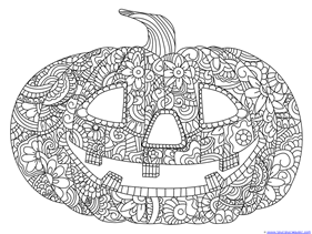 Pumpkin Coloring (3)