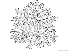 Pumpkin Coloring (7)