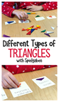 Different types of Triangles with Spielgaben Math
