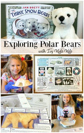 Three Snow Bears Ivy Kids Kit