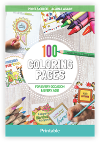 100ColoringPages Mockup