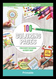 100ColoringPages Mockup