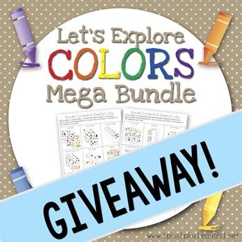 Let's Explore Colors IG GiveawayMega Bundle