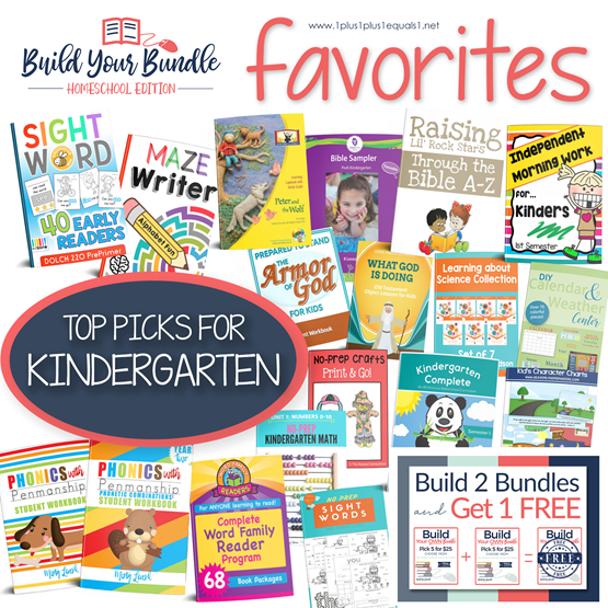 BYB 2018 Kindergarten Favorites
