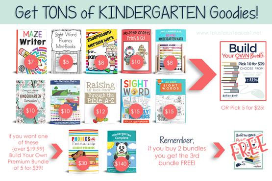 BYB 2018 Kindergarten Resources
