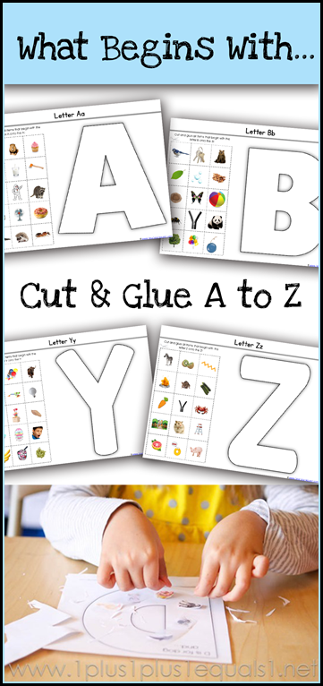 What Begins with A to Z