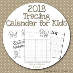 2018-Tracing-Calendar-for-Kids4