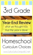 3rd-Grade-Homeschool-Curriculum-Year-End-Review