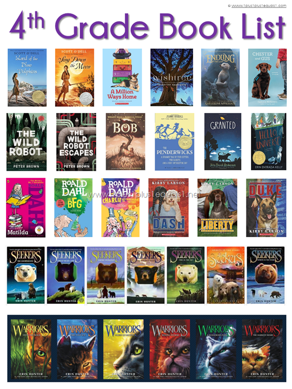4th Grade Reading List 1 1 1 1