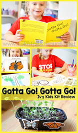 Gotta Go Gotta Go Ivy Kids Kit Review - A Fun Way to Explore the Monarch Butterfly