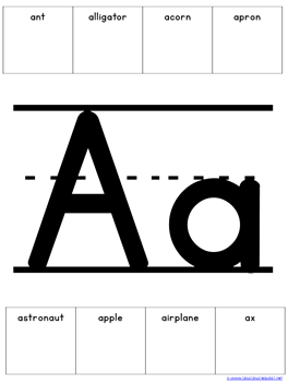 Make Your Own Letter Posters A 2