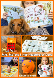 Mrs. McTats and Her Houseful of Cats Unit Study with Ivy Kids Kits