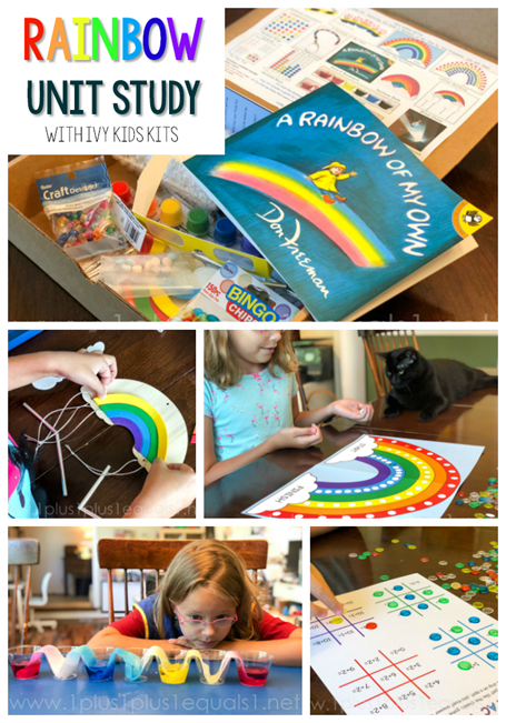 Rainbow Unit Study with Ivy Kids Kits