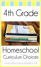 4th Grade Homeschool Curriculum Choices L