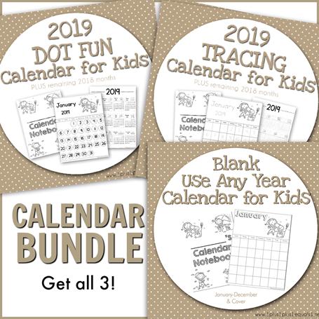 Calendar Bundle 2019