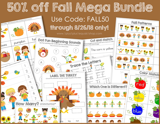 Fall Mega Bundle Sale