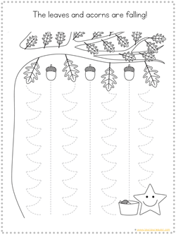 Fall Tracing Printables (3)