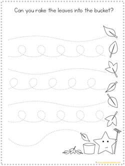 Fall Tracing Printables (4)