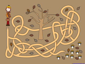 Fall Mazes for Kids (3)
