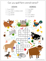 Farm Animal Fun Pack (6)