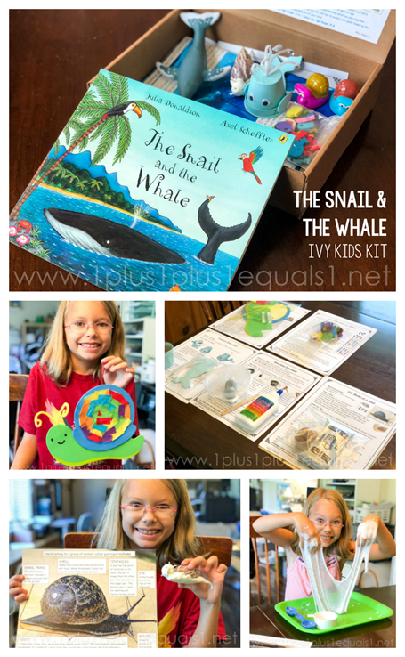 Ivy Kids Kit The Snail and the Whale